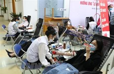 14th Red Spring Festival blood donation drive surpasses set target
