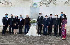 Diplomats commemorate fallen Algerian journalists in Vietnam