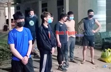 Nine foreigners arrested for illegal entry