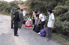 Dozens of illegal immigrants found in border provinces