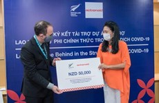 New Zealand supports pandemic-hit informal female workers in central Vietnam