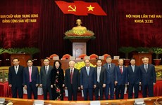 Party Central Committee adopts resolution of second plenum