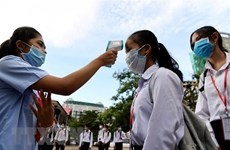 COVID-19 infections in Cambodia rises