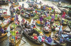 Can Tho promotes green tourism at Cai Rang Floating Market