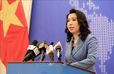 Foreign Ministry spokesperson highlights Vietnam's stance on int'l issues