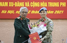 Vietnamese officer to work at UN peace operations department