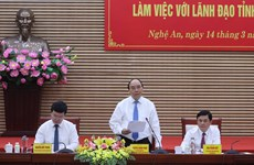 Prime Minister asks Nghe An province to lure big, strategic projects