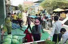 Support delivered to Vietnamese-Cambodians under quarantine in Cambodia