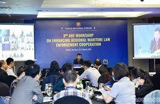 ARF workshop talks regional cooperation in maritime law enforcement