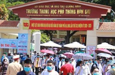 Quang Ninh announces plans to resume classes for students affected by pandemic
