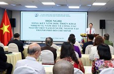 HCM City posts solid performance in overseas Vietnamese affairs