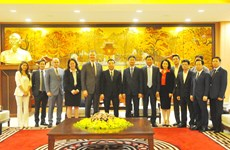 Hanoi leader welcomes US, RoK ambassadors