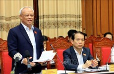 NA inspection teams work with election committees of Thai Binh, Quang Tri