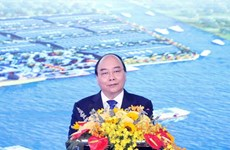 PM attends inaugural ceremony of Phuoc Dong Industrial Park and Port
