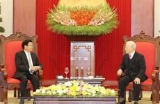 Nurturing Vietnam-Laos special solidarity