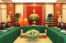 Vietnam views Japan as strategic partner of leading importance: Top leader