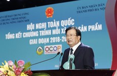OCOP assessment, recognition must be taken thoroughly: Deputy PM