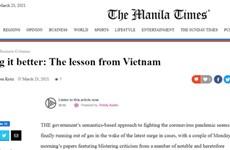 Philippine media lauds Vietnam's anti-COVID-19 formula