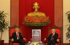Vietnamese, Chilean leaders exchange congratulatory messages