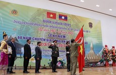 Vientiane ceremony marks 60 years of Vietnam's public security expert force in Laos
