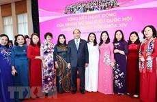 Efforts of female parliamentarians reviewed