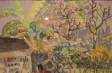 Paintings of Vietnamese artists return home from Japan