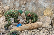 Wartime bomb in Nghe An removed safely