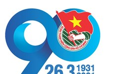 Youth Union's 90th founding anniversary celebrated in Laos