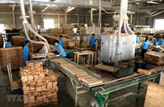 Forestry exports up 41.5 percent in Q1