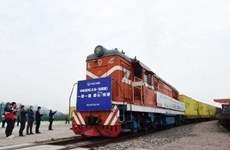 China opens freight train route linked with ASEAN countries