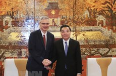 Hanoi strengthens cooperation with Finnish, French localities
