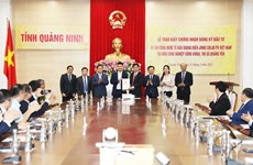 Hong Kong firm invests in photovoltaic cell technology project in Quang Ninh