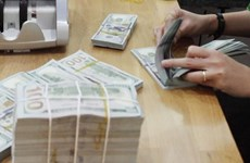 Reference exchange rate down 2 VND on April 1