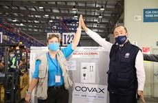First COVID-19 vaccine batch under COVAX arrives in Vietnam