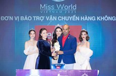 "Vietjet accompanies Miss World Vietnam 2021 to promote ""Vitality of Vietnam"""
