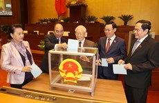 NA approves resolution on relieving Nguyen Phu Trong from State Presidency