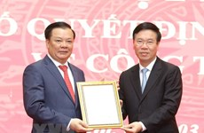 Politburo member Dinh Tien Dung assigned as Secretary of Hanoi Party Committee