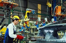 Manufacturing, processing maintains strong growth in Q1