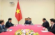 Cambodian PM congratulates new Vietnamese PM via phone talks