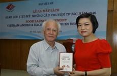 Book on Vietnam – US exchanges before 1946 debuts