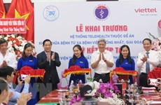 Telehealth centre inaugurated in Ho Chi Minh City