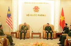 Vietnam, Malaysia seek to promote defence cooperation