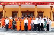 Permanent Vice NA Chaiman pays Chol Chnam Thmay visit to Soc Trang