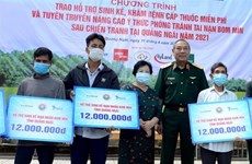 Livelihood support programme benefits landmine victims in Quang Ngai