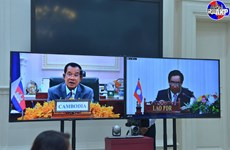 Cambodia, Laos agree to promote bilateral, multilateral cooperation