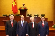 Congratulations to newly-elected Vietnamese leaders