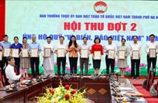 Hanoi: Additional 23.7 billion VND raised for sea, island fund