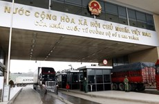 Exports, imports via Lao Cai int'l border gate soar 75 percent