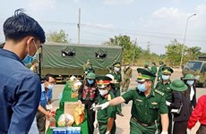 Vietnamese Cambodians receive relief aid amidst COVID-19