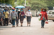 Laos enhances COVID-19 prevention measures during New Year festival